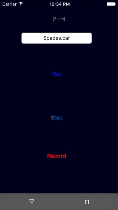 Random Sound Recorder screenshot two