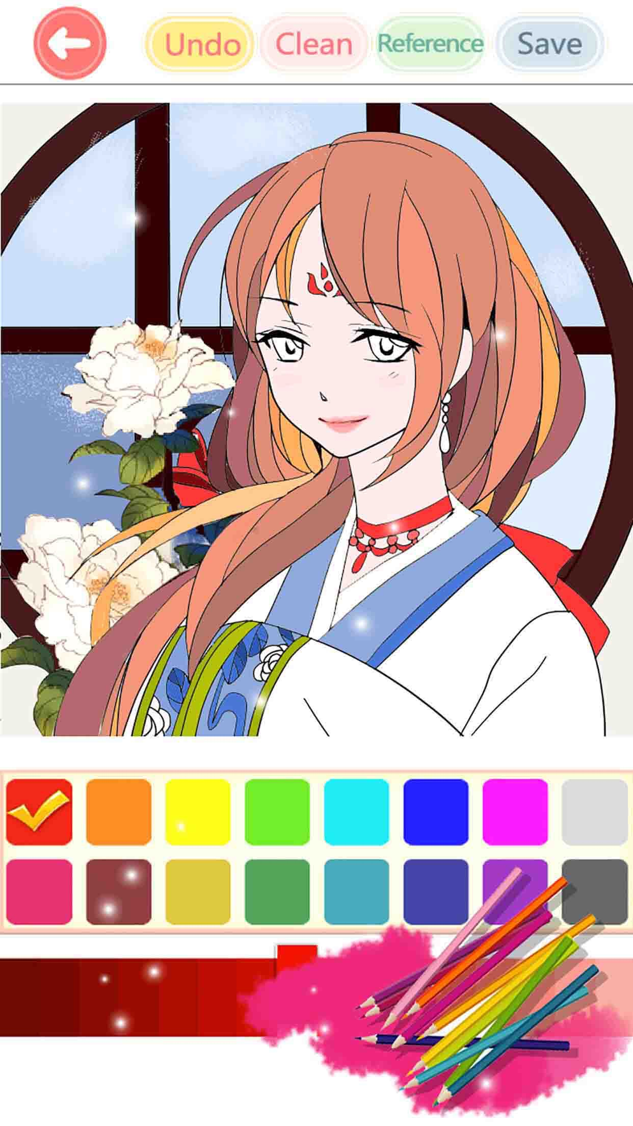 Coloring Book - fun paint color games free Screenshot