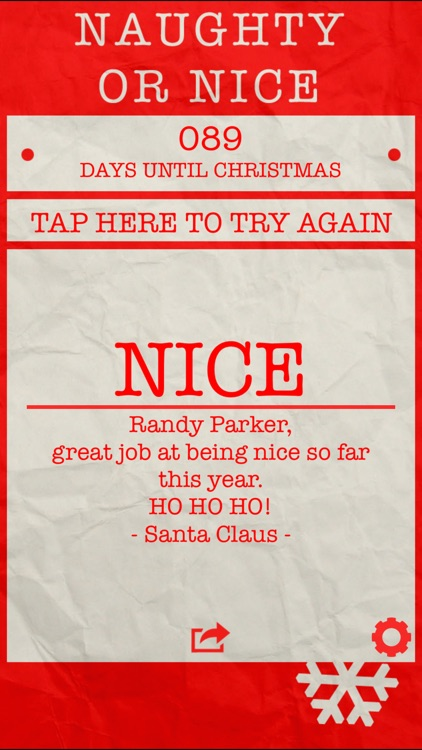 Santa's Naughty or Nice List Pro screenshot-1