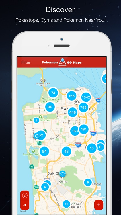 Poke Go Maps for Pokemon Go