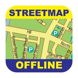Los Angeles Offline Street Map