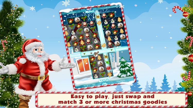 Match 3 Christmas Theme New Free Match Three Game