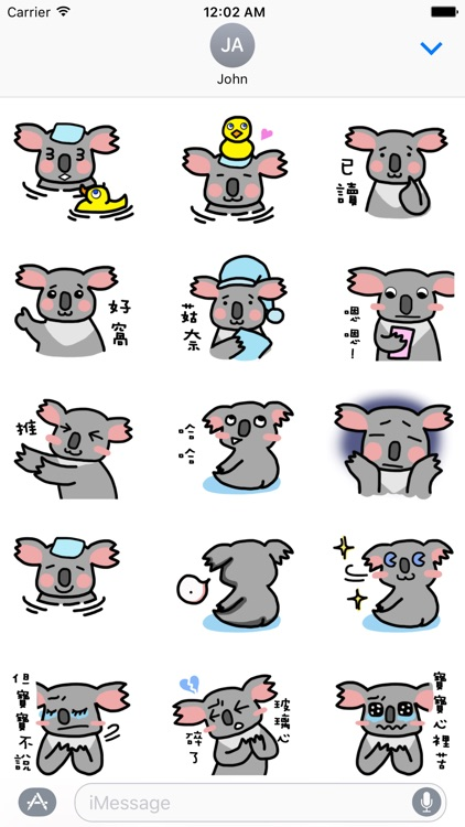 Lazzi The Koala Stickers