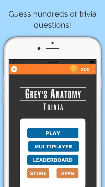 Trivia for Grey's Anatomy TV Show - Free Multiplayer Quiz Edition by