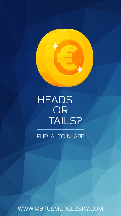 Heads or Tails? - Simple Flip Coin App