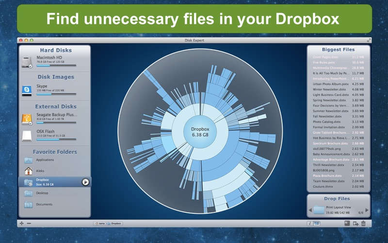 DiskExpert: Free Up Disk Space Screenshot 4