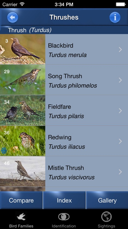 Bird Id - British Isles Identification Guide including all RSPB BGB bird watching survey birds screenshot-4