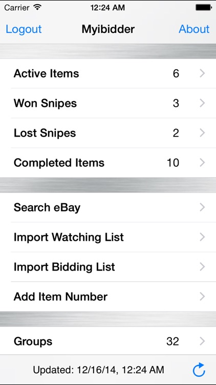 Myibidder Auction Bid Sniper for eBay PPS app image