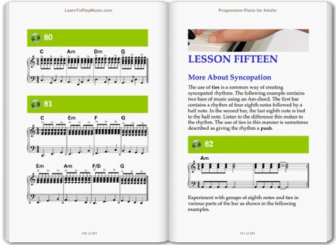Piano For Adults Progressive Lessons By Learntoplaymusic On Ibooks