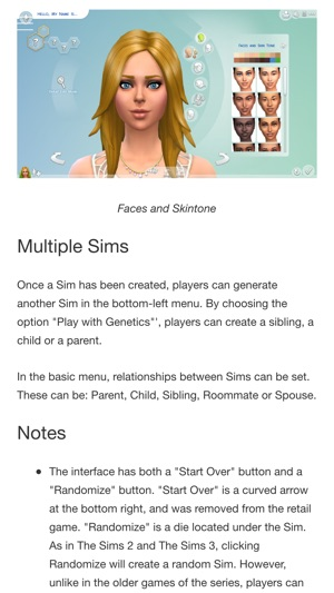 Woololo Guide For The Sims 4 on the App Store