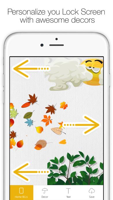 Icon Skins Builder - Personaliza con los fondos tanto la Pantalla de Inicio como la Pantalla bloqueadaCaptura de pantalla de2