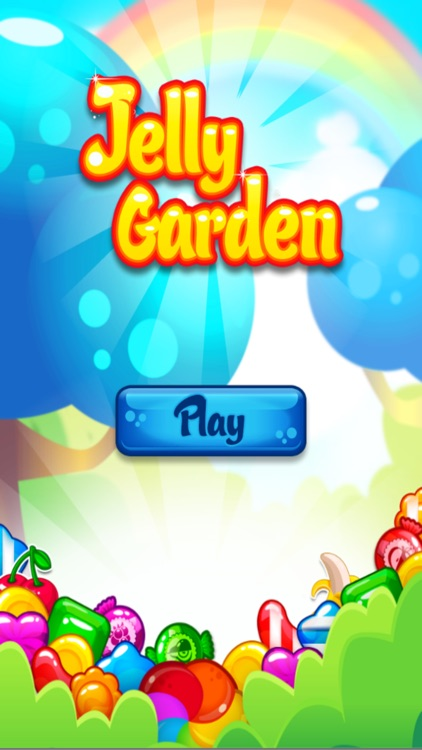 Sweet Fruit Jelly Garden Saga : Match 3 Free Game
