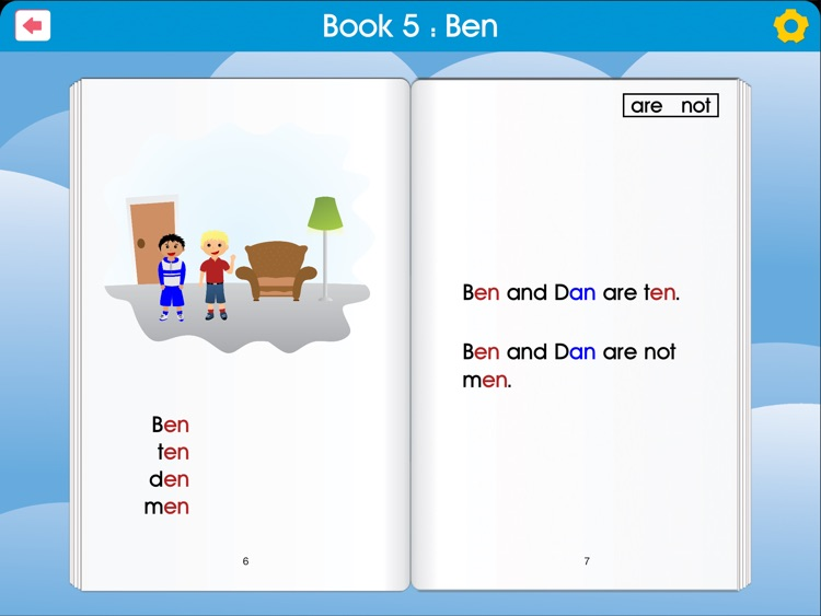 Rhyme to Read - teach beginning reading with phonics, sight words and word families (English Free Version) screenshot-3