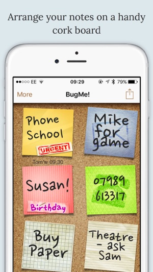 ‎BugMe! Stickies