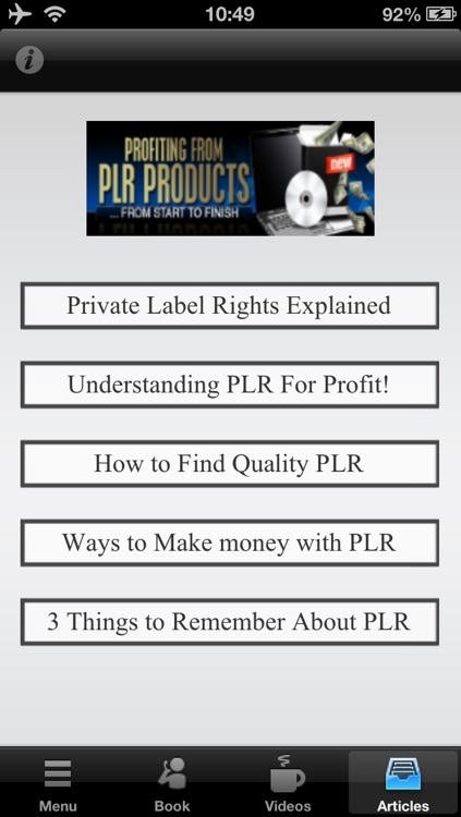 Profit From PLR the Easiest Way