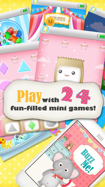 Buzz Me! Kids Toy Phone - All in One children activity center screenshot-4
