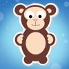 アクティブ! 森の動物と幼児のための学習ゲーム