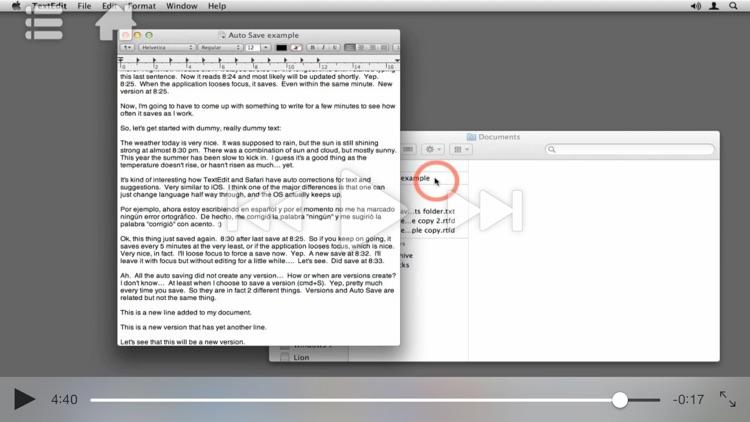 Course For Mac OS X 10.7 101 - Core Lion screenshot-3