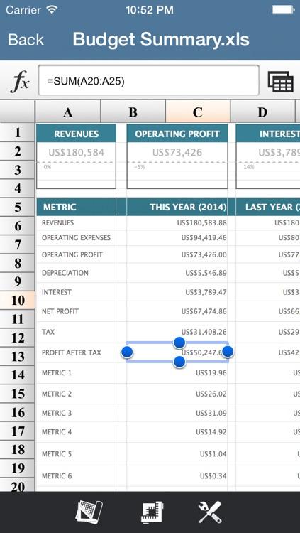 Super Spreadsheet-For Excel Format screenshot-3