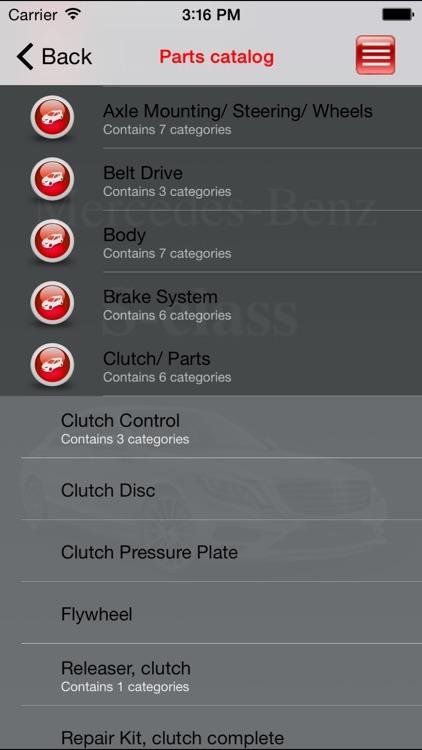 Autoparts Mercedes-Benz S-class screenshot-3
