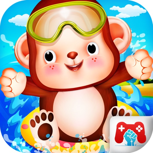 Pet Waterpark Game