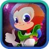 A Space Monkey Run by Uber Zany