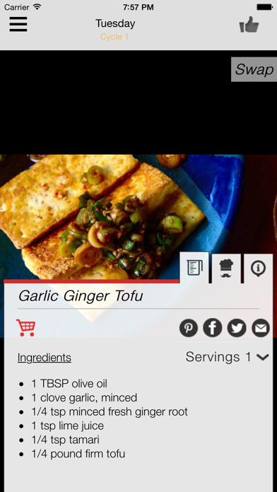 17 Day Diet Meal Plan Screenshot