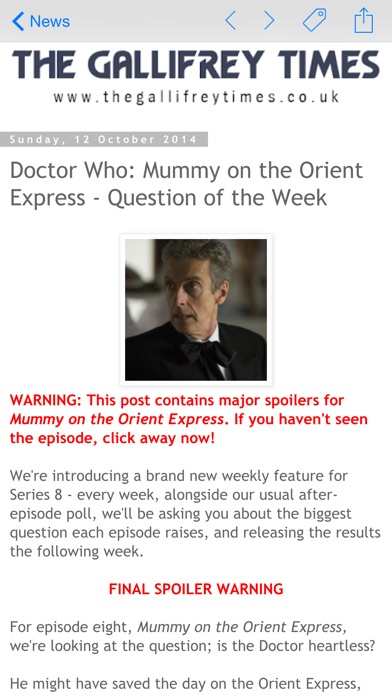 Dw Whonews For Doctor Who review screenshots