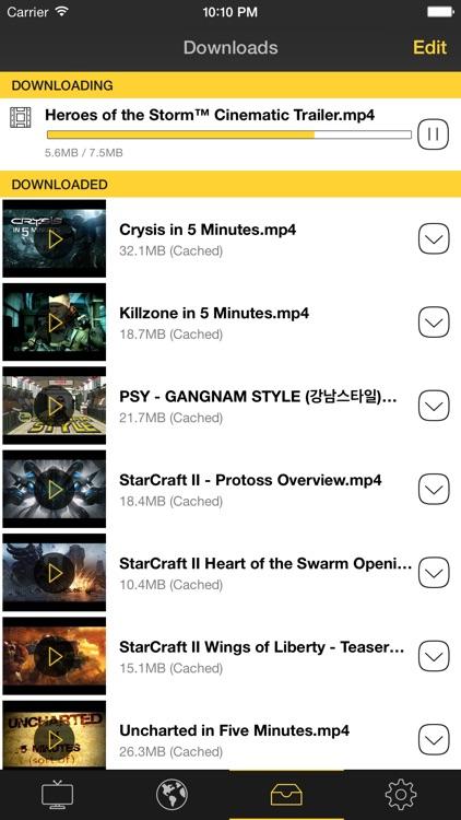 AwesomeTV Pro Video Downloader screenshot-4