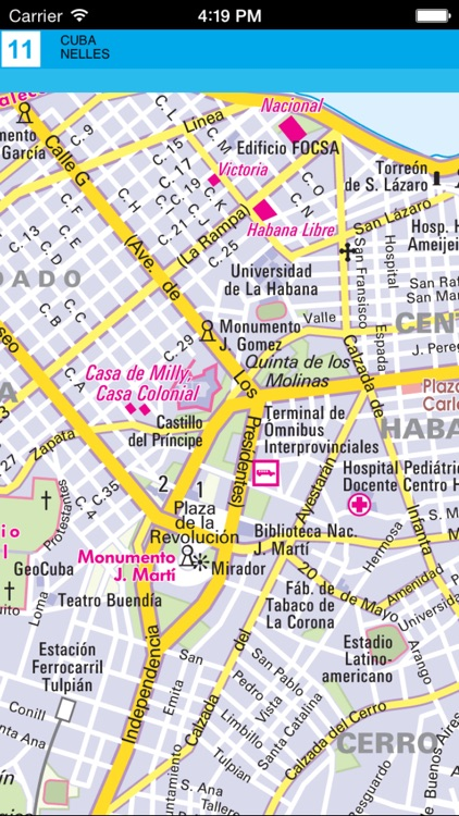 Cuba. Tourist map screenshot-4