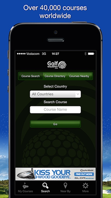 Golfweather.com screenshot-2
