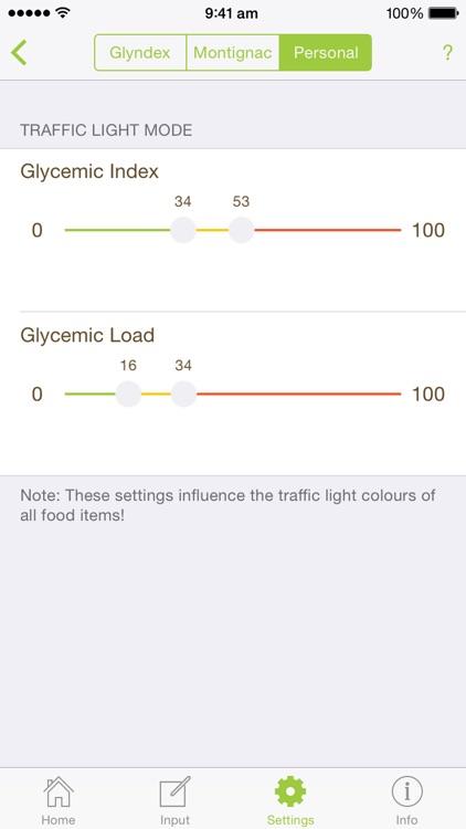 Glyndex - The nutrition guru screenshot-4