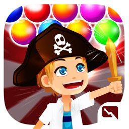 Bubble Land Pirates: Junior King Treasure Shooter Pro