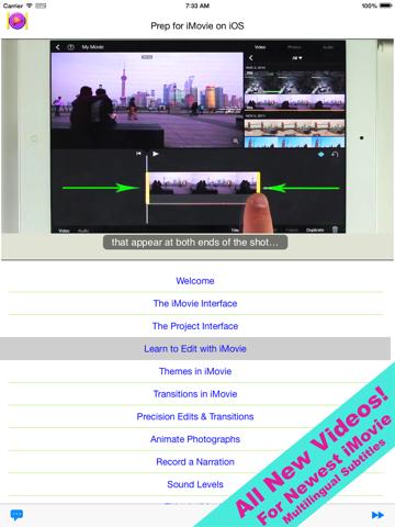 Prep for iMovie for iOS Screenshot 0