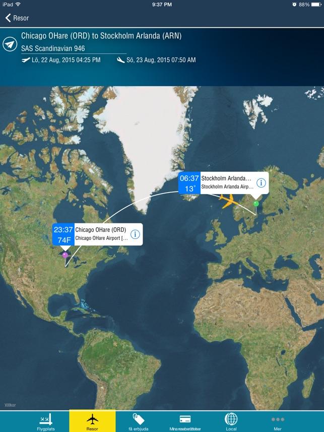 Stockholm Arlanda Airport ARN Flight Tracker Scandinavian