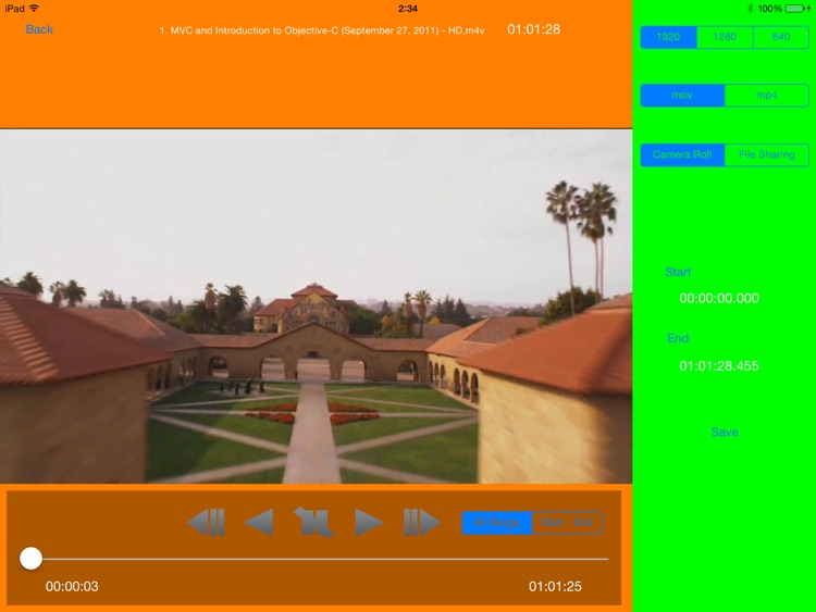 MP4 Video Editor for iPad screenshot-2