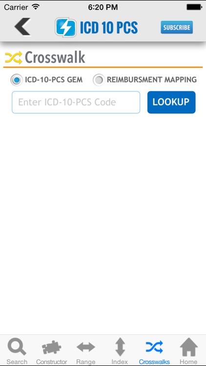 ICD-10-PCS Lookup screenshot-4