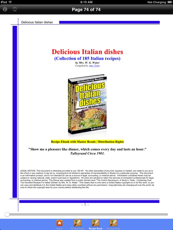 All Italian Recipes HD