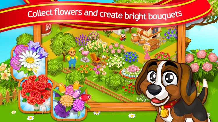 Farm Town: Lovely Pets screenshot-3