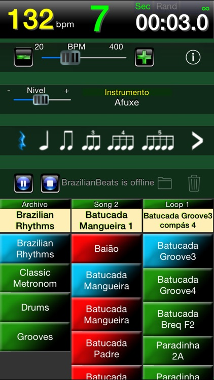Brazilian Beats -The brazilian drum box