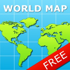 World map for ipad free on the app store world map for ipad free 4 gumiabroncs Gallery