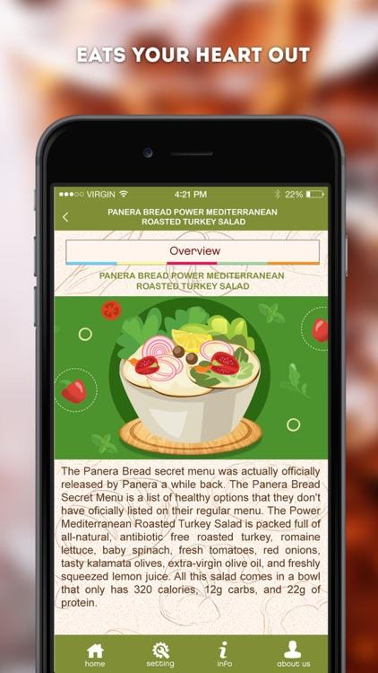 Secret Menu for Panera Bread screenshot-4