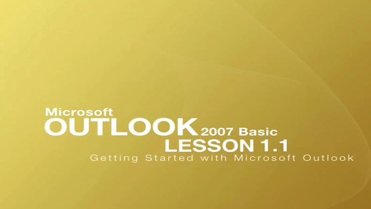 Video Training for Office Outlook