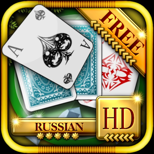 ACC Solitaire [ Russian ] HD Free - Classic Card Games for iPad & iPhone
