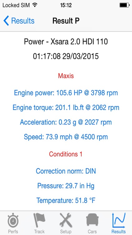 PerfectPower - Cars Perfs (Dyno & Runs) screenshot-4