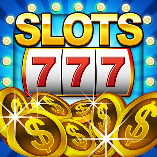`Lucky Gold Coin Jackpot Casino 777 Slots - Slot Machine with Blackjack, Solitaire, Bonus Prizewheel iOS App