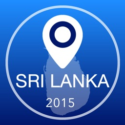 Sri Lanka Offline Map + City Guide Navigator, Attractions and Transports