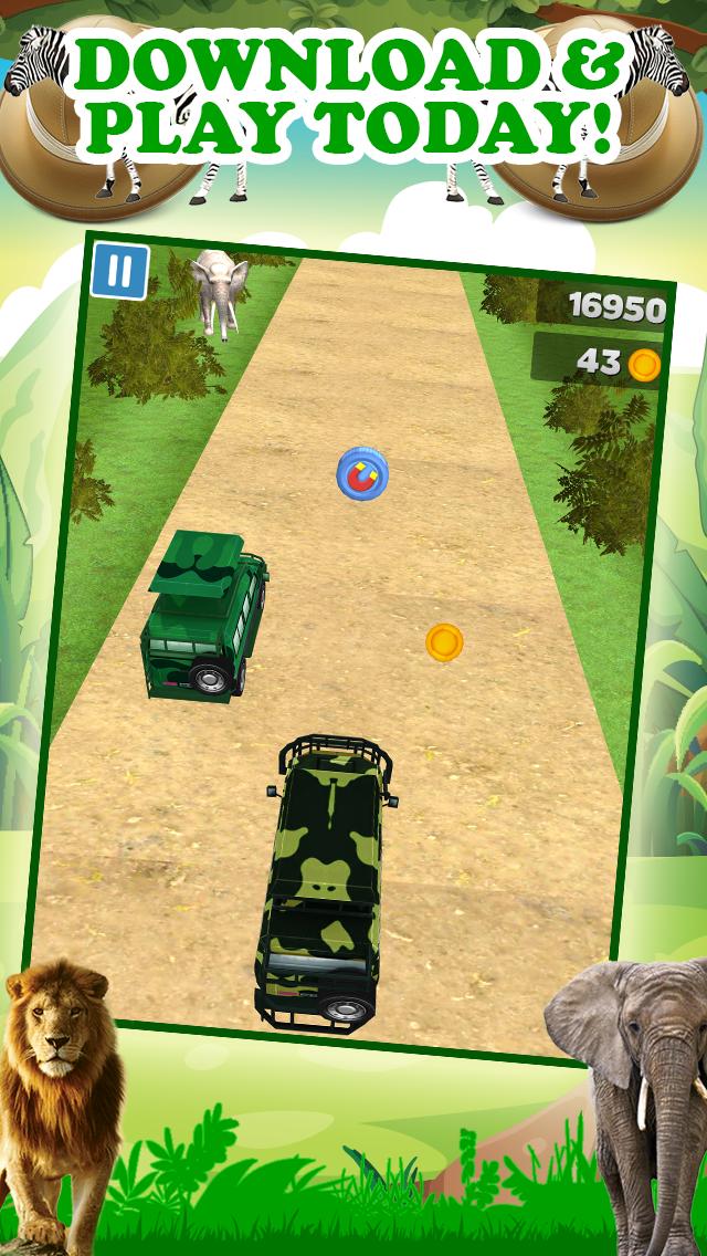 エンドレスリアルアドベンチャーシミュレータードライビング無料で3Dサファリジープレーシングゲームのおすすめ画像5