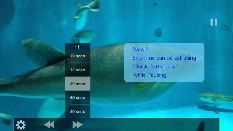 ThumbVideo, One-hand optimized video player.