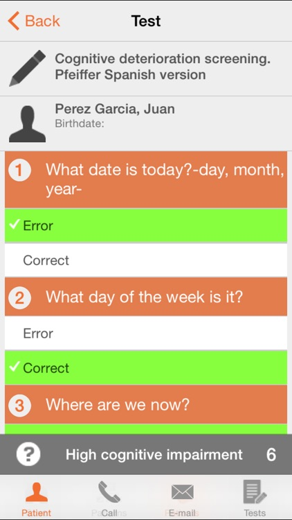 Nurse Test Lite - Nursing and Paramedic healthcare questionnaire screenshot-3